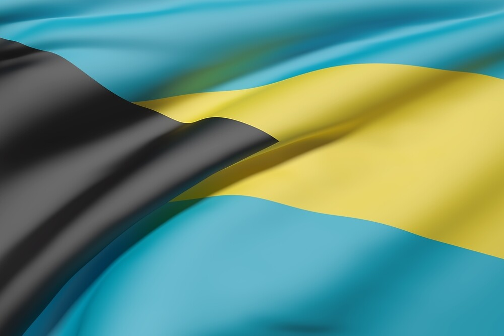 Bahamas flag by erllre74