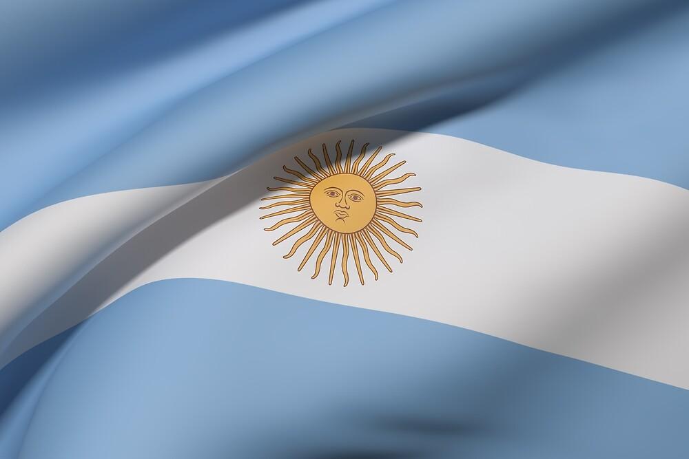 Argentina flag by erllre74