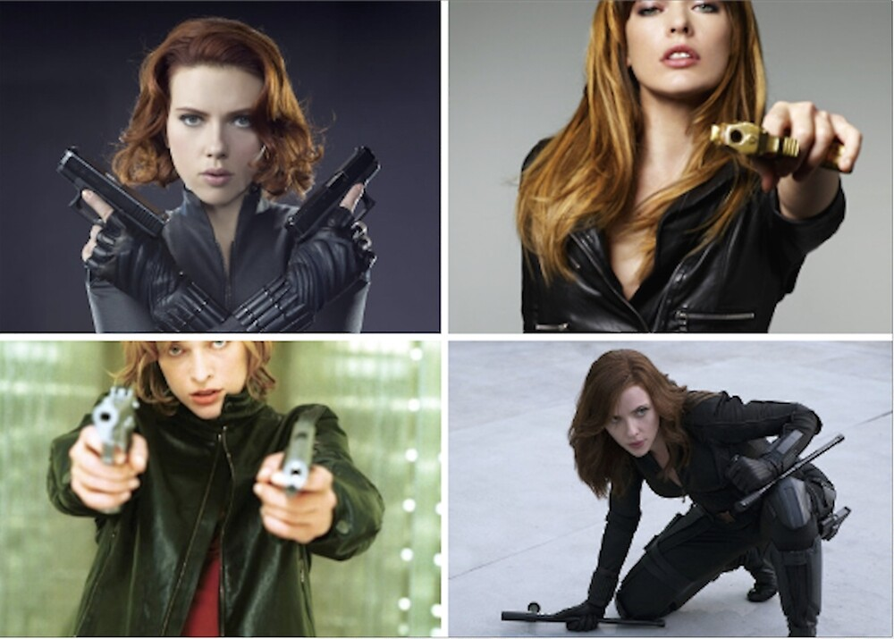 Badass Bitches With Guns by allthecollages
