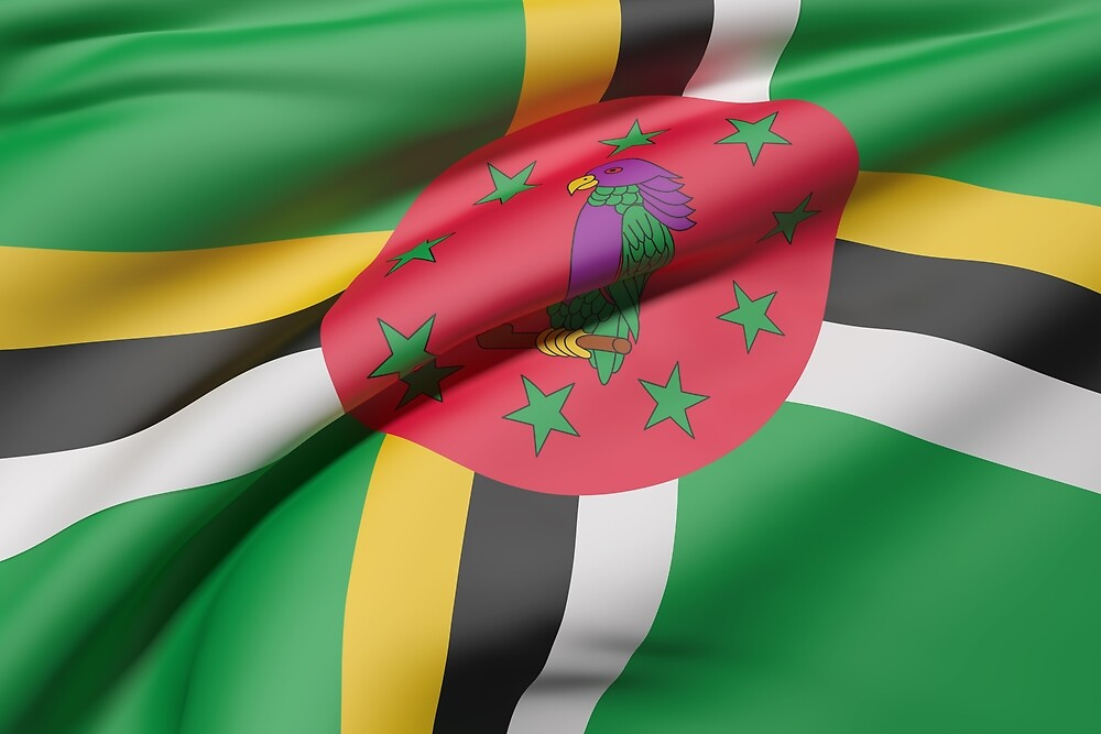 Dominica flag by erllre74