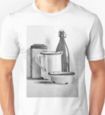 Still life drawing with kitchen items T-Shirt