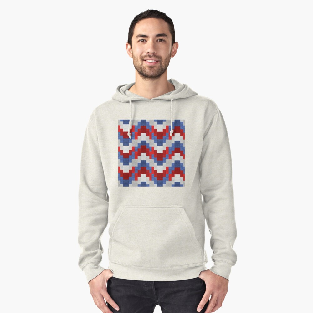 ABSTRACT Pullover Hoodie Front