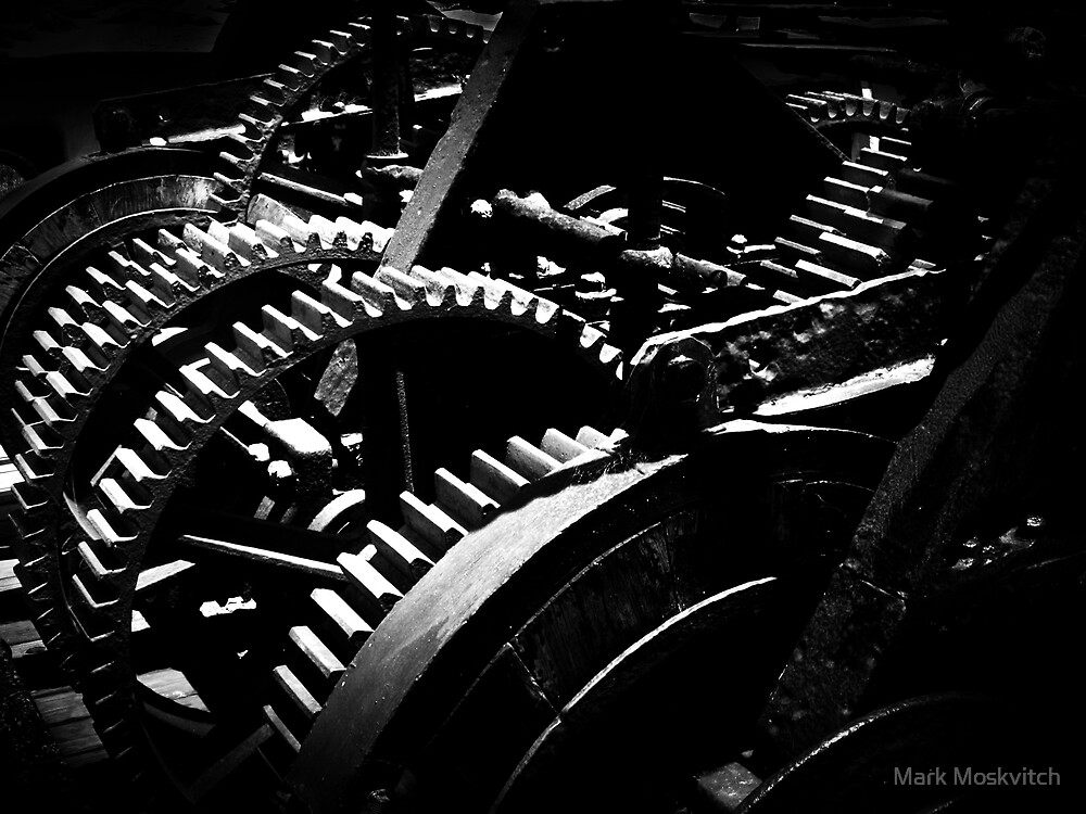 Machinations I by Mark Moskvitch