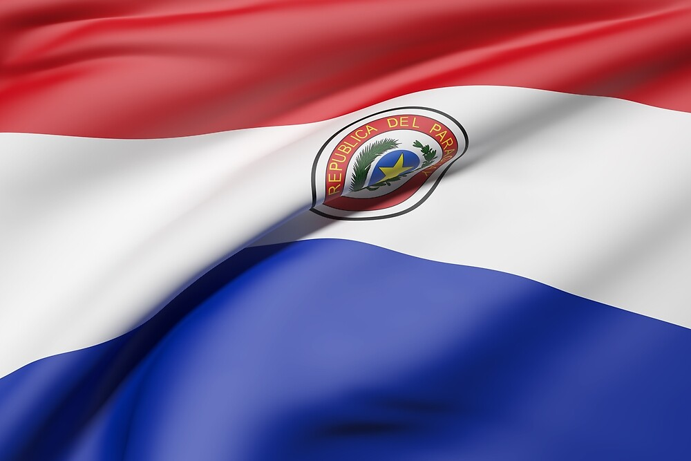 Paraguay flag by erllre74