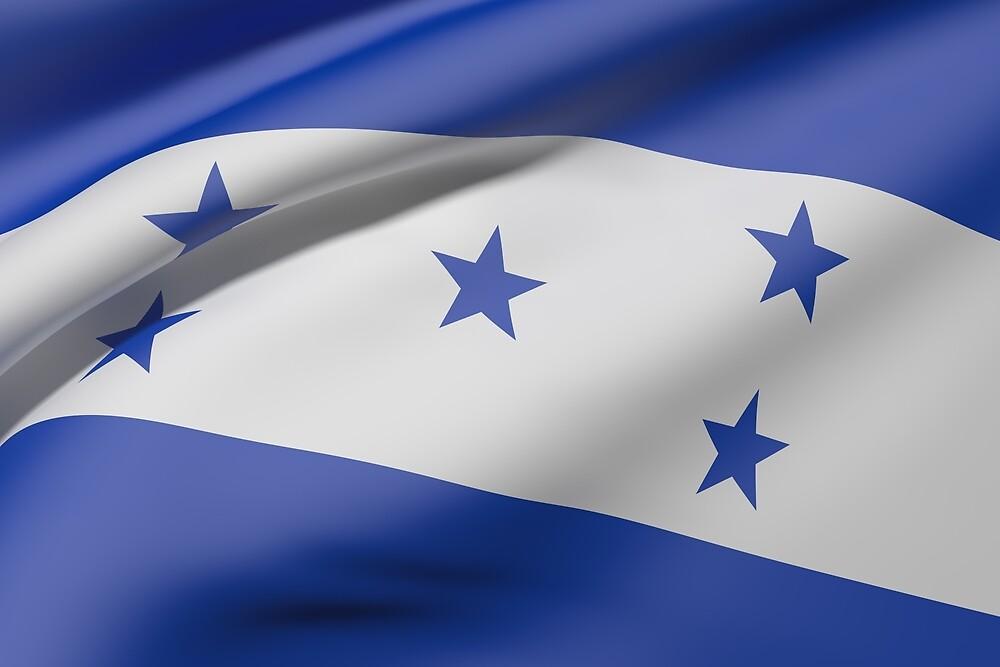 Honduras flag by erllre74