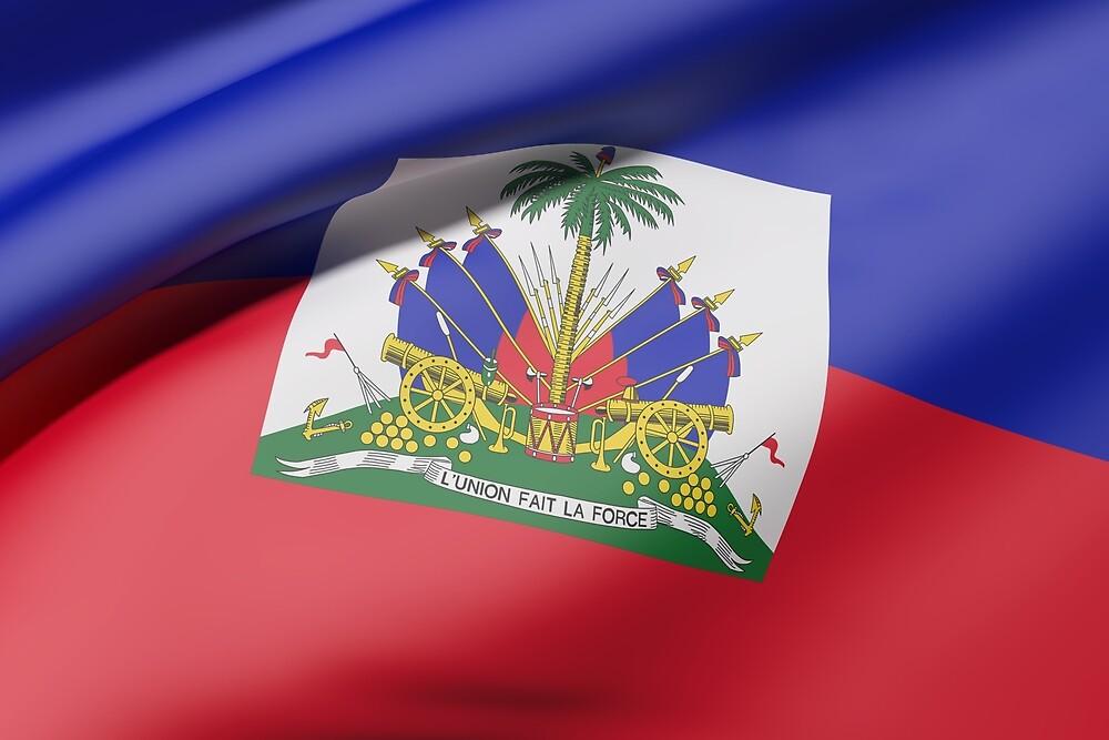 Haiti flag by erllre74