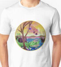 """Laconic Integrity"" Artist: Darrell Lum Unisex T-Shirt"