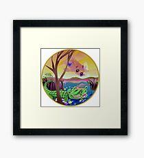 """Laconic Integrity"" Artist: Darrell Lum Framed Print"