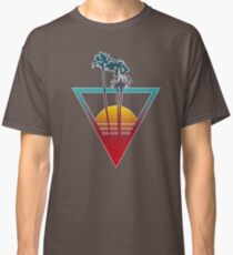 Synthwave Summer Sunset Classic T-Shirt