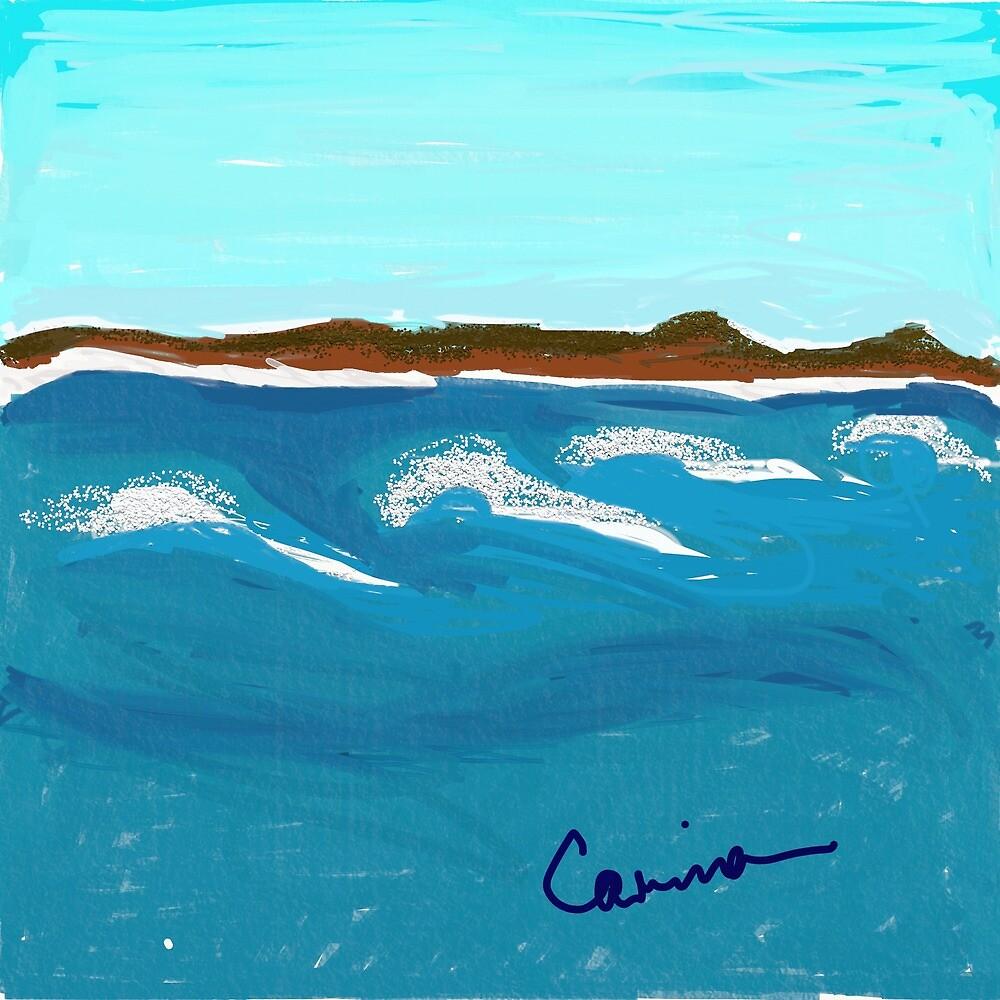 Bonny waves by Eastergrandkid