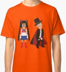 Tina Moon and Buttexdo Mask Classic T-Shirt