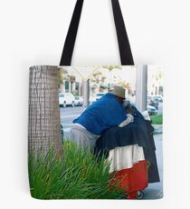 Man In The Mirrror Tote Bag