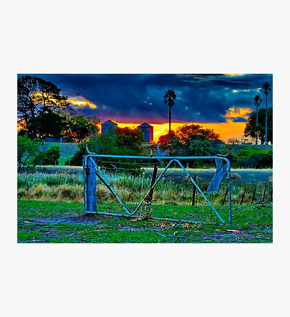 """""""At The Farm Gate"""" Photographic Print"""