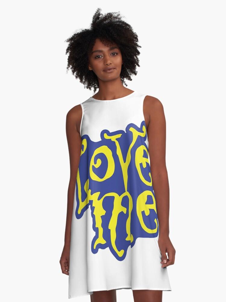 Love Me A-Line Dress Front