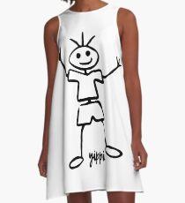 Kids Paintings 4 A-Line Dress