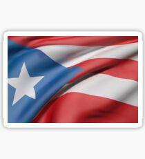 Puerto Rico flag Sticker