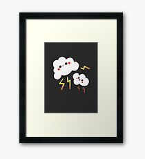 Little Fluffy Clouds  Framed Print