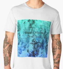 STAUNCHCORE CO. - Life's A Beach Summer Sea Edition Men's Premium T-Shirt
