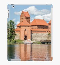 Trakai Castle on Lake Galve Island iPad Case/Skin