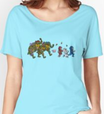 Turtles VS Cats Women's Relaxed Fit T-Shirt