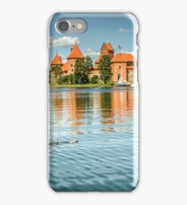 Trakai Castle in Lithuania iPhone Case/Skin