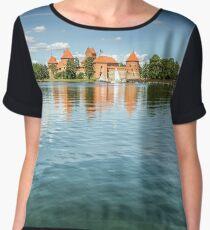 Trakai Castle Chiffon Top