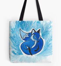 Blue Fox Tote Bag