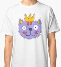 Cat in A Crown Classic T-Shirt