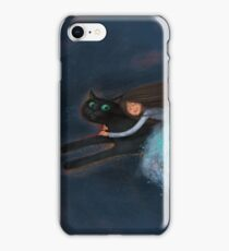Flying on my cat iPhone Case/Skin