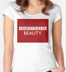 "BBC News - ""another beauty"" Women's Fitted Scoop T-Shirt"