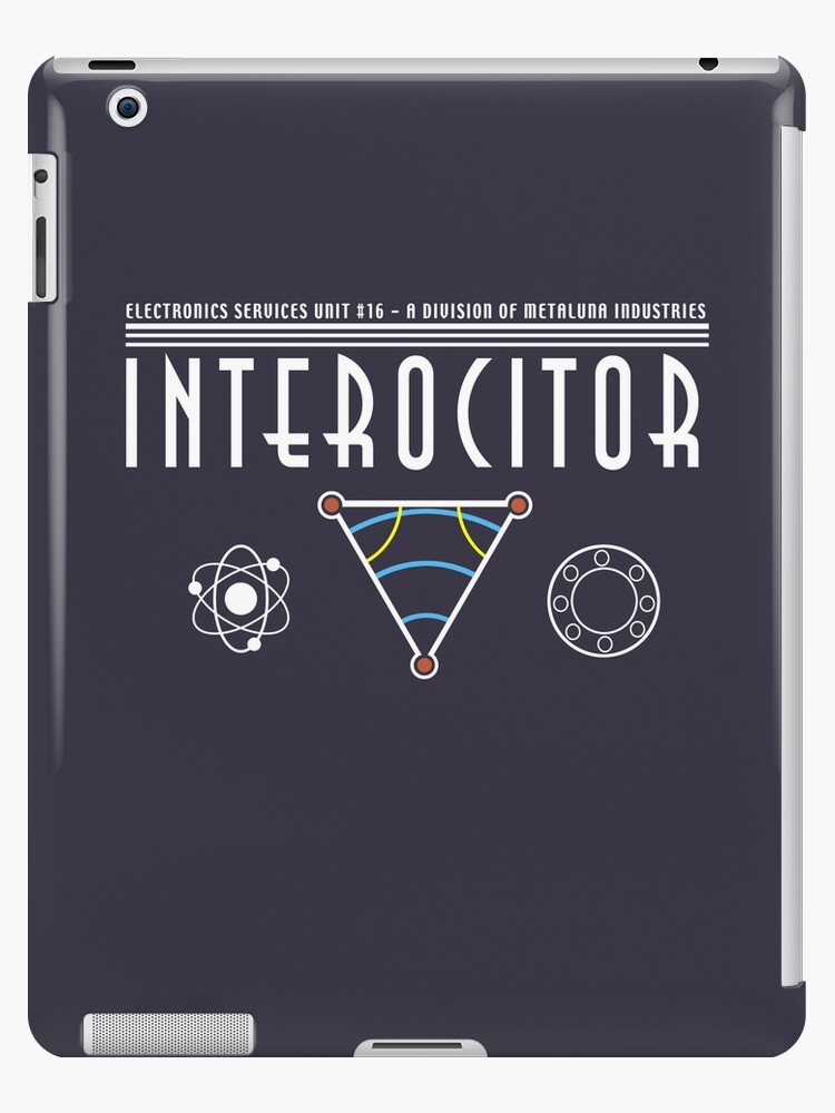 'Interocitor Logo : Inspired by the This Island Earth' iPad Case/Skin by  WonkyRobot