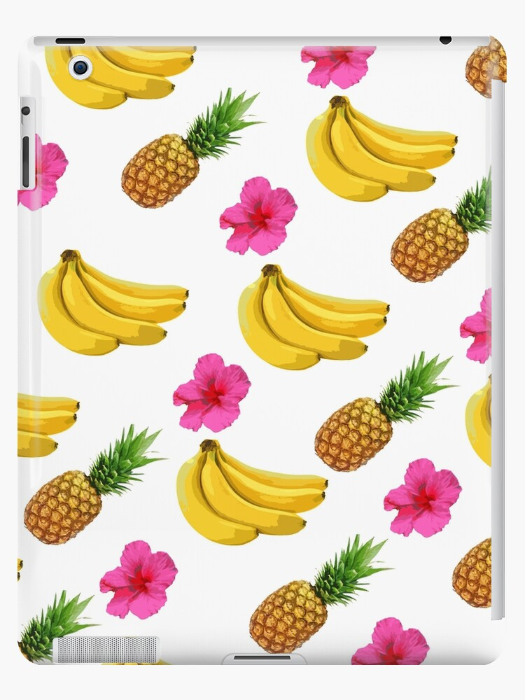 Summer vibe pattern with pineapple and bananas by Mandalorian3