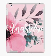 Floral Personalised iPad Case/Skin