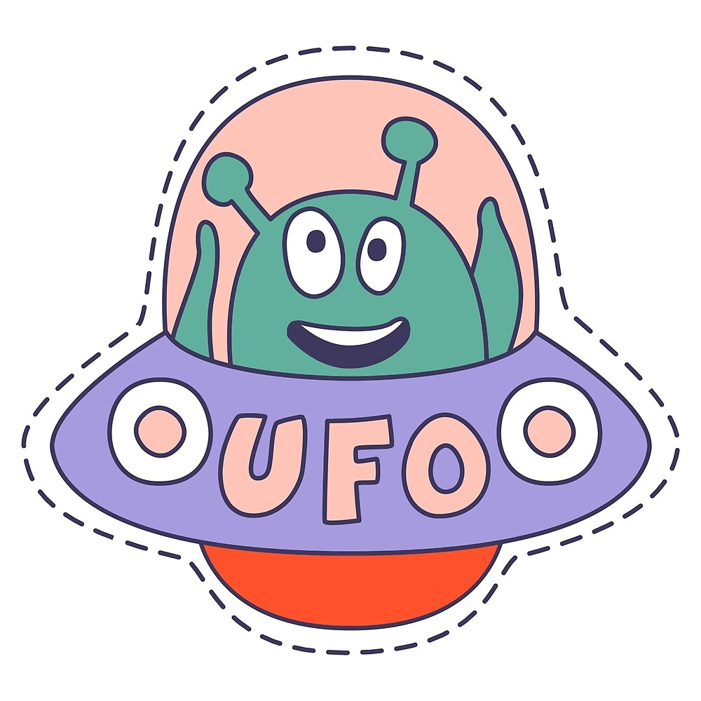 UFO With Alien by topvectors