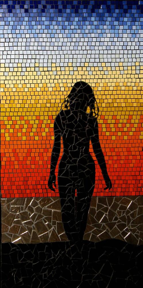 Sunset silhoette by Brett Campbell