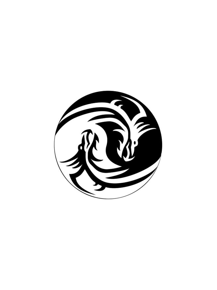The Yin Yang Dragon by Guusdewolf