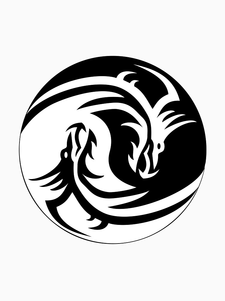 The Yin Yang Dragon by Guusdewolf
