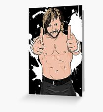 Kenny Omega Greeting Card