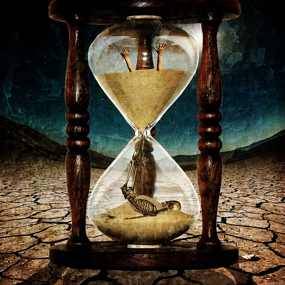 Sands of Time ... Memento Mori  by Marian  Voicu
