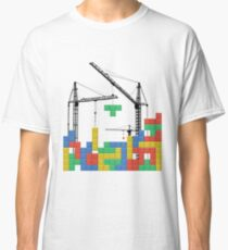 Tetris Building Classic T-Shirt