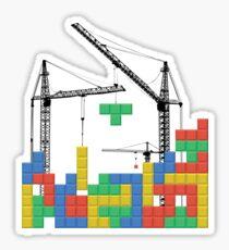 Tetris Building Sticker