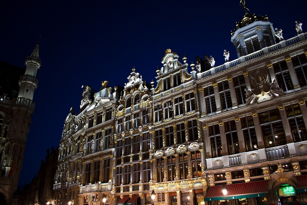 Guild Houses by flipinny