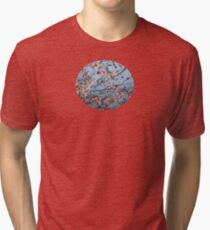 Water... Color (variation - abstract nature photography series) Tri-blend T-Shirt