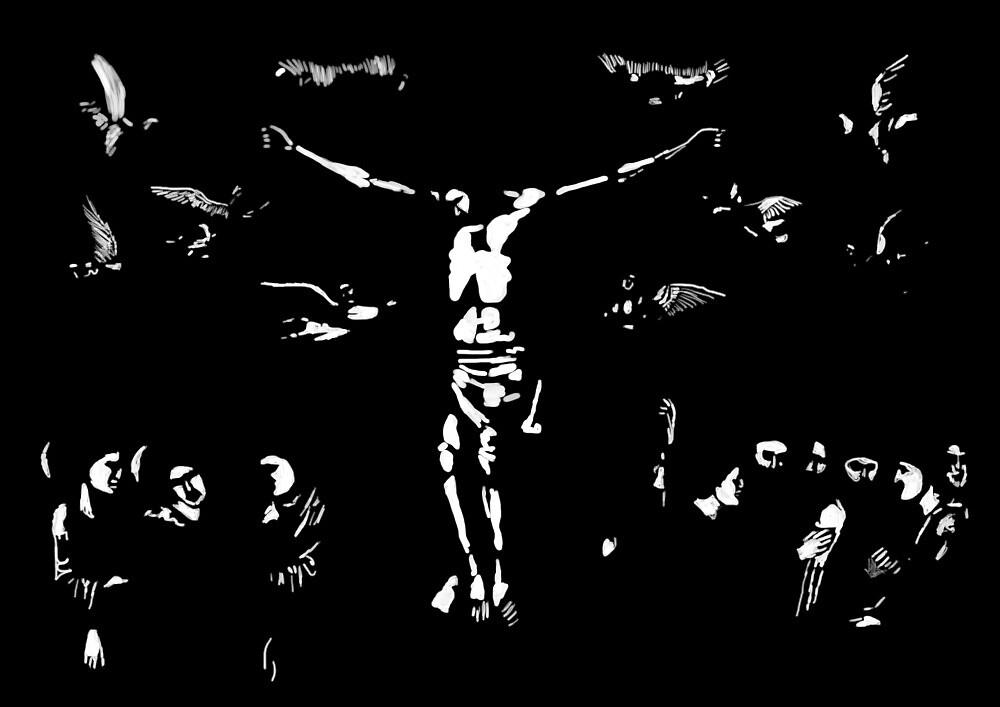 Jesus Clair Obscur by SamuelKompier