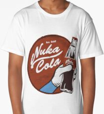 Fallout nuka cola logo, Long T-Shirt