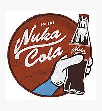 Fallout nuka cola logo, Photographic Print