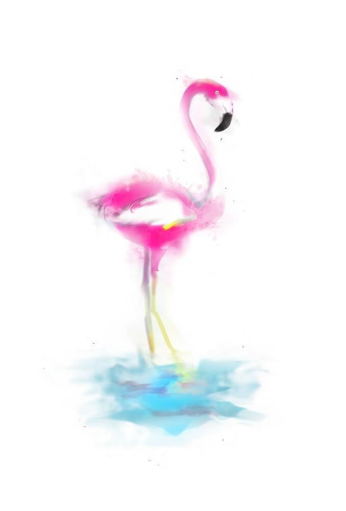 Flamingo  by alphr3D