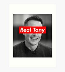 Real Life Tony Stark: Elon Musk Art Print