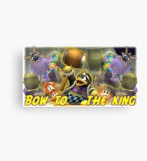 Bow to the king Canvas Print