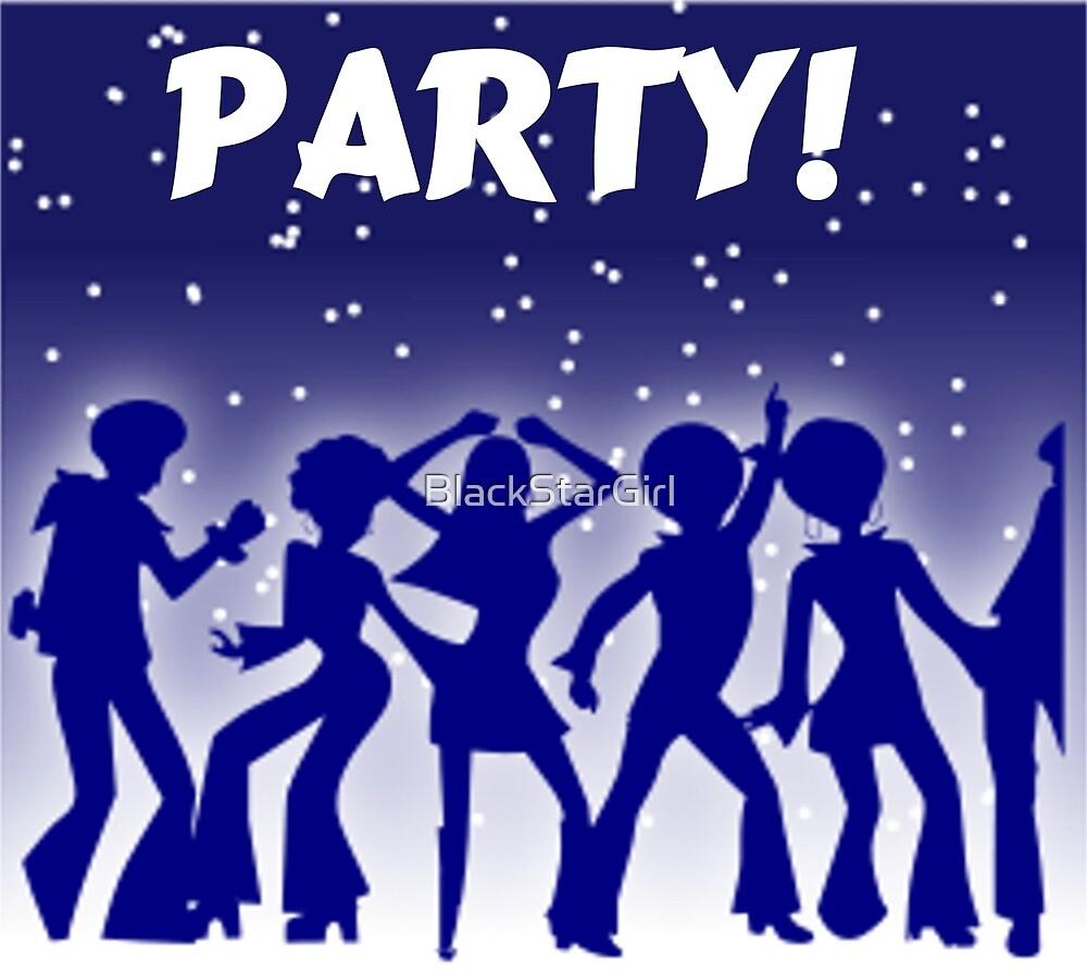 Party Disco Dancers by BlackStarGirl